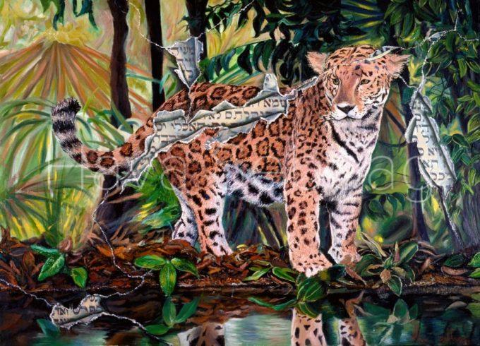 Behind the Scene - Oil on Canvas Painting - Hava Sebbag Fine Art