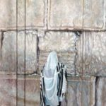 One More Prayer - Oil on Wood Panel Painting - Hava Sebbag Fine Art