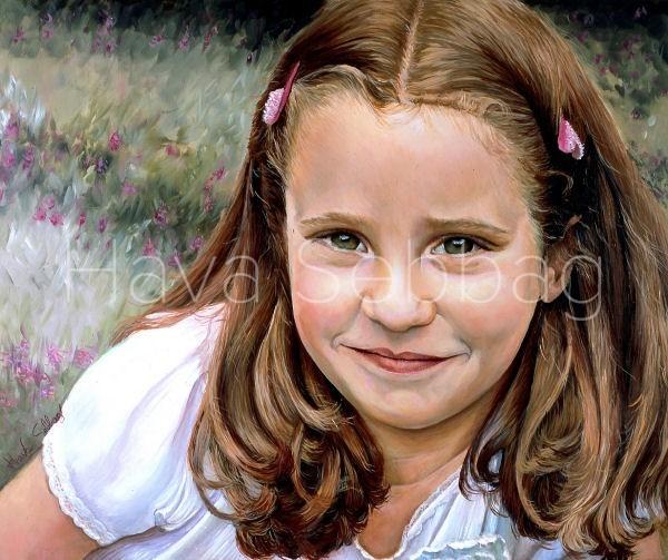 Sweetheart - Oil Painting - Hava Sebbag Fine Art