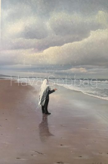 My Song To You - Oil on Canvas Painting - Hava Sebbag Fine Art