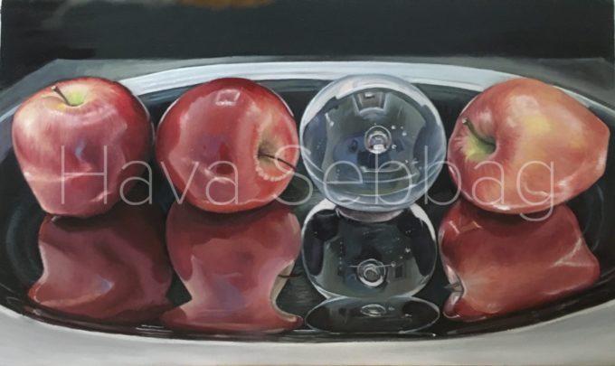 L'etrangere - Oil Painting - Hava Sebbag Fine Art