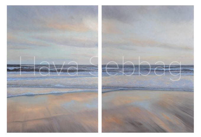 Reflections - Oil Painting - Hava Sebbag Fine Art