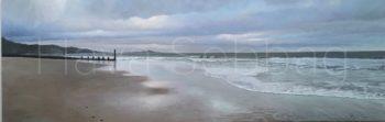 Seaside - Landscape Painting- Hava Sebbag Fine Art
