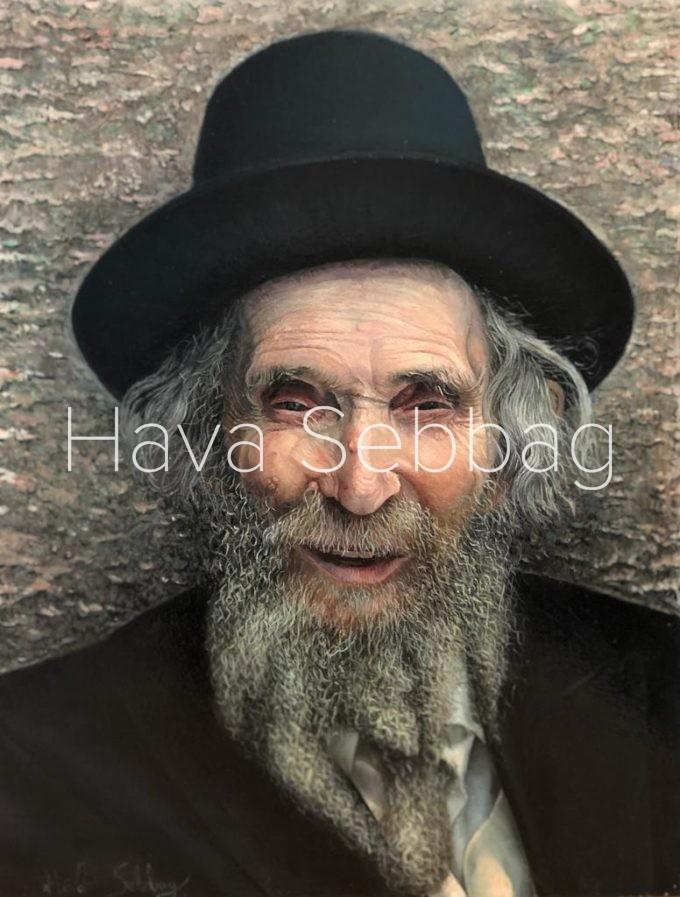 Rav-Shteinman-ZTl-Oil-on-Metal-Painting-Hava-Sebbag-Fine-Art
